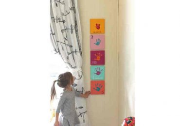 How To Make This Easy and Cute Handprint Art for Your Kid's Bedroom