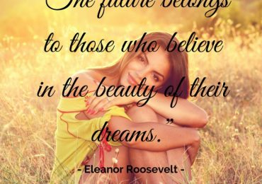 Dare to believe in your future…