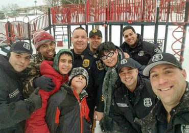 Kids Were Playing In A Park After A Snowstorm. A Few Cops Stopped Them And You Won't Believe What They Did!