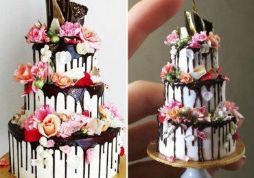 Artist Creates Keepsake Mini Wedding Cakes For Couples