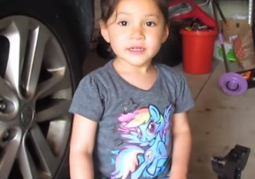 This Adorable 3-Year-Old Shows How To Do An Oil Change Better Than You Ever Will