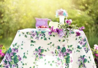 She Threw A Garden Tea Party And You Won't Believe Who The Guests Are