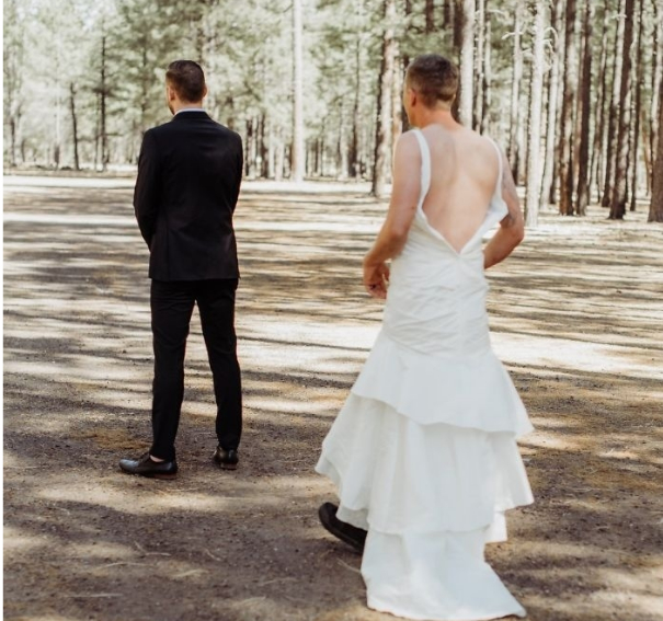 Bride Decides To Prank Groom On Wedding Day And His Reaction Is Priceless